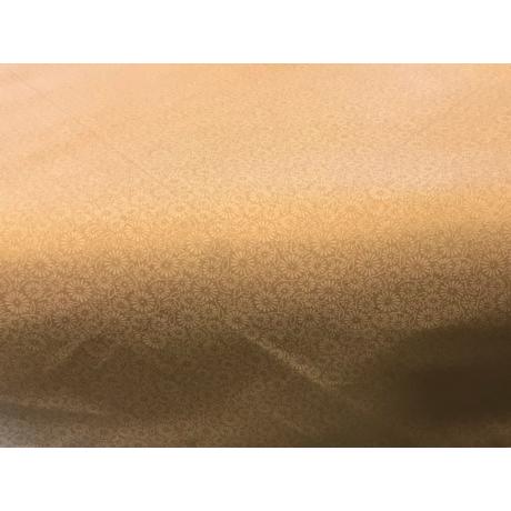 Asztalterítő napron nyomott mintával 70x70cm fehér pigment virágos