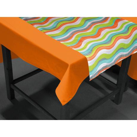 2 az 1-ben asztalterítő és futó szett 40x140 cm + 140x140 cm