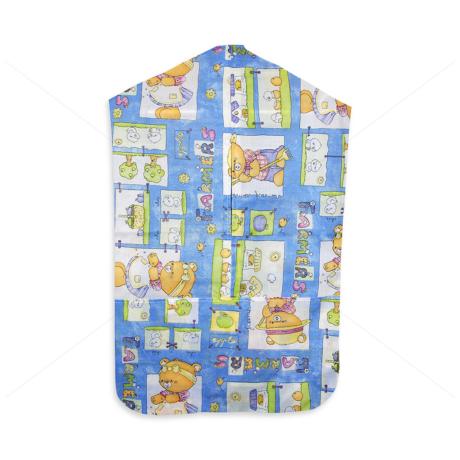Óvodai vállfás ruhazsák 1089 blue