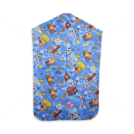 Óvodai vállfás ruhazsák 880 blue
