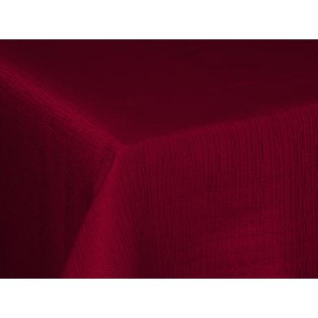 Polly asztalterítő effekt bordó 140x220cm