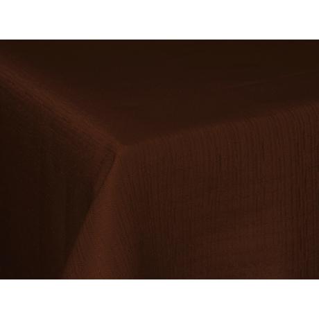 Polly asztalterítő effekt csoki 140x140cm