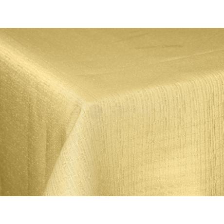 Polly asztalterítő effekt vaj 140x140cm