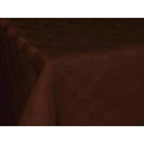 Polly asztalterítő kockás csoki 100x140cm