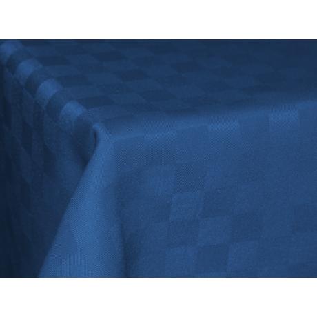 Polly asztalterítő kockás kék 140x140cm