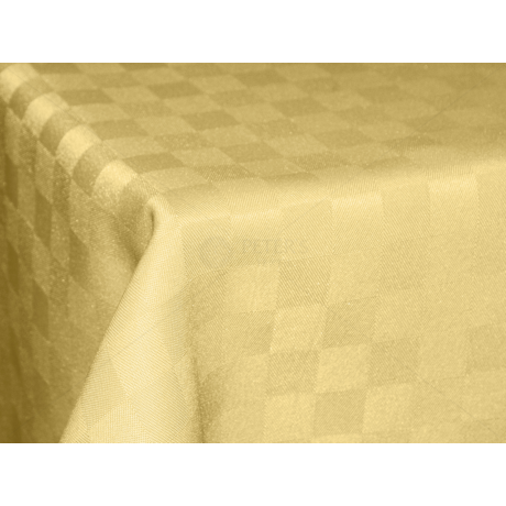 Polly asztalterítő kockás vaj 140x140cm