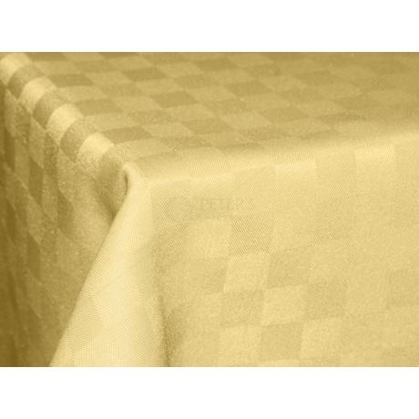 Polly asztalterítő kockás vaj 100x140cm
