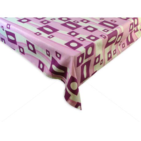 100% pamut asztalterítő nyomott mintával 140x140 cm RETRÓ B