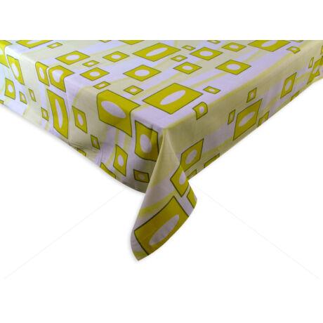 100% pamut asztalterítő nyomott mintával 140x140 cm RETRÓ A