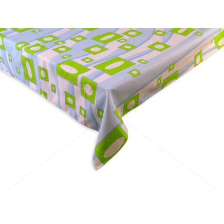 100% pamut asztalterítő nyomott mintával 140x140 cm RETRÓ D