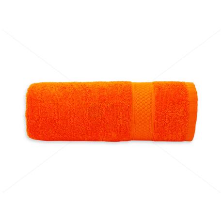 Frottír törölköző 50x90 cm 400g/m2 narancs