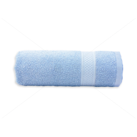 Frottír törölköző 50x90 cm 400g/m2 világos kék