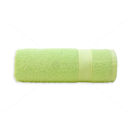 Frottír törölköző 50x90 cm 400g/m2 világos zöld