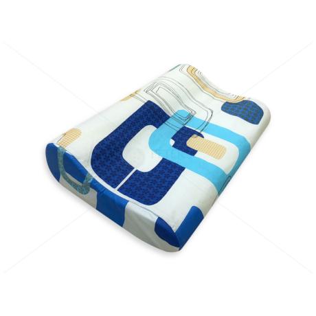 Anatómiai párna cipzáras huzatban 1114 blue