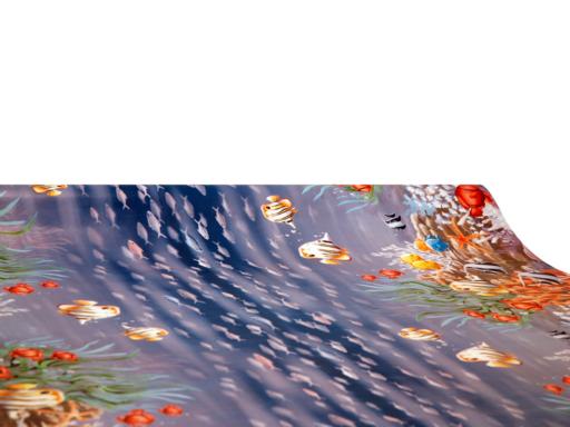 Viaszos vászon Firenze halacskás 2872