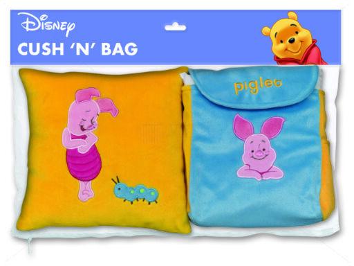 Disney díszpárna és hátizsák szett 25x25 cm Malacka