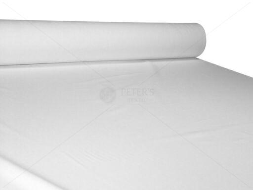 Lepedővászon 100% pamut 280 cm 170g/m2 szanforizált fehér