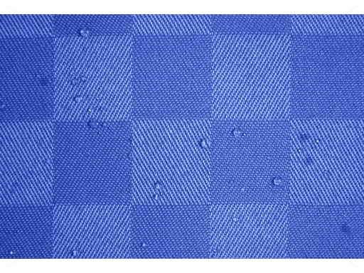 Polly asztalnemű alapanyag 150 cm effektszálas kék